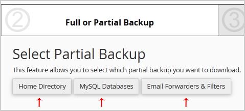 Best mysql backup option cpanel
