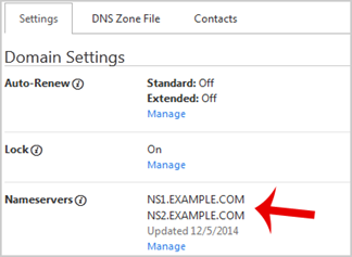 update DNS Name server on Godaddy