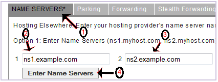 How to update DNS Nameserver on DynaDot