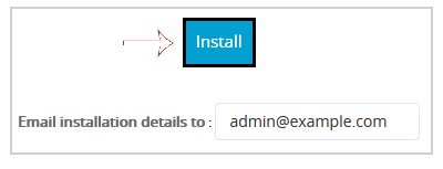 Install Joomla via Softaculous